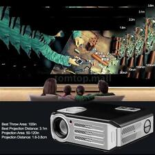 3200 Lumens 5.8 inches LCD Projector 1080P HD TV Video Home Theater Cinima H8D7