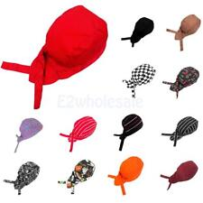 Fashion Chefs Hat Cap Kitchen Catering Skull Cap Ribbon Cap Turban 13 Types