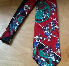 Mens Neck Tie Football Game Necktie Players Field Sports Cabralli Collection EUC