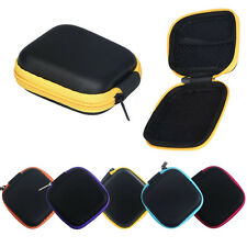 Zipper Storage Bag Carrying Case Box Packet For Hard Keep Earphones SD Card Area