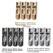 4 pieces Single String Bass Bridge w/ Wrench for 4 String Bass Guitar parts