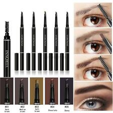 Long Lasting Auto Rotation Eyebrow Pencil Eye Brow Liner Pen+Brush 2 in 1 Makeup