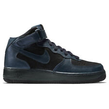 Nike Wmns Air Force 1 Mid Premium Shoes Women's Trainers Blue 805292-900
