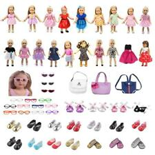 Dolls Fashion Accessories Party Dress Clothes Outfit for 18'' American Girl Doll