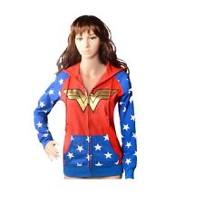 WW9 Wonder Woman Teen Adult Hoodie Costume for Halloween Cosplay Party S-XL