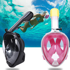 Swimming Diving Anti Fog Full Face Mask Surface Snorkel Scuba Mask For GoPro