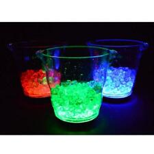 LED Champagne Wine Chiller Ice Bucket with USB Cable to Charge 4L Pick