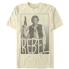Star Wars Han Solo Rebel Mens Graphic T Shirt