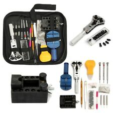 Watch Repair Kit Set Watchmaker Wrist Strap Pin Tool Back Case Remover Opener