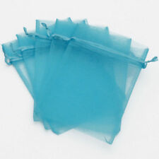 14 Colours Gift Jewelry Wedding Candy Organza Party Pouches 10 Pieces Bags 7x9cm