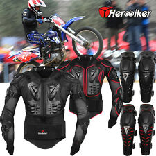 Motorcycle Motorcross Protective Jackets Racing Full Body/Knee Armor Spine Chest