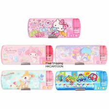 SANRIO KITTY MELODY TWIN STARS HUMMINGMINT MAGIC MUTI-FUNCTION PENCIL CASE (L)