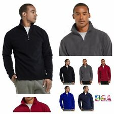 Mens Casual Fleece Sweater Jacket Outerwear Coat Pullover Winter Zip SweatShirt