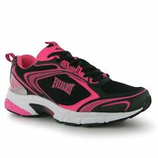 Everlast Jog Trainers Womens Black/Pink Gym Fitness Workout Trainers Sneakers