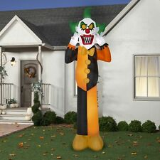 airblown inflatable clown 12ft by gemmy industries - Halloween Inflatable Yard Decorations