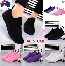 AU Womens Casual Outdoor Sports Mesh Breathable Sneakers Running  Athletic Shoes