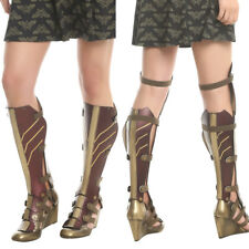 Official 2017 DC Comics Wonder Woman Movie 3pc Cosplay Costume Wedge Boots NEW