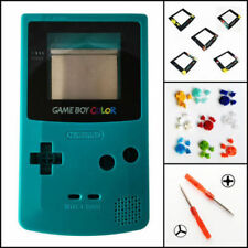 Nintendo Game Boy Color GBC Replacement Housing Shell Screen Teal BUTTONS!