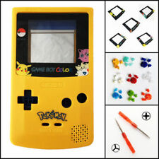 Nintendo Game Boy Color GBC Housing Shell LIMITED EDITION Pokemon BUTTONS!