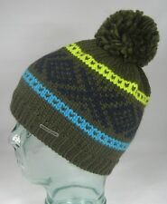 STETSON WOLKING Pompom hat Knitted Cap Bobble hat Knitted Beanie Hat NEW