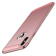 For iPhone .X Luxury Ultra Thin Hybrid Hard Shockproof Electroplated Cover Case