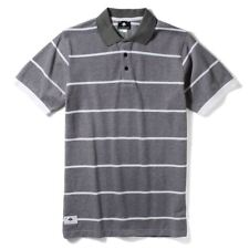Lrg Core Collection Striped Polo Shirt Black Heather