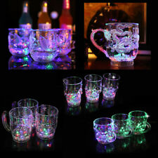 Liquid Activated Mug LED Automatic Flashing Cup Light Cup Color Change