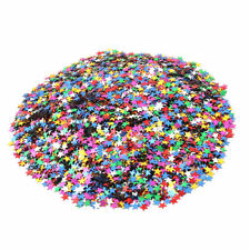 Celebration Party Star Shaped DIY Craft Table Decoration Assorted Color 1800pcs