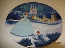 Knowles DISNEY Treasured Moments CINDERELLA 1st in Series Collector Plate