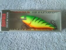RAPALA SHAD RAP - SR-7 - FIRETIGER - NIB - FISHING LURE - DEEP RUNNER