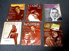 1971 & 1972 Screen Greats Magazine's #2,3,4,5,6,8 Bogart,Gable,Monroe,Garbo+++