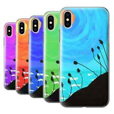 STUFF4 Back Case/Cover/Skin for Apple iPhone X/10/Sunset Oil Painting