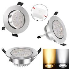 15W 85-265V Warm White Cool White Silver LED Ceiling Recessed Down Light W3LE