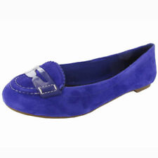 Womens Sperry Top Sider Brooks Blue Suede Flats Shoes New
