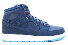 [682782-415] AIR JORDAN AIR JORDAN 1 RETRO HIGH GS SNEAKERS AIR JORDANOBSIDIAN/W