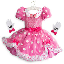 NWT DISNEY Store sz 4 or 5-6 COSTUME for KIDS - MINNIE MOUSE Halloween Dress-up