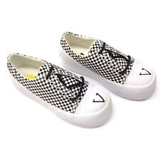 VOLATILE Sun Women's Platform Wedge Elevator Sneaker Shoes Black White Check