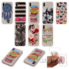 Fr iphone soft tpu phone case crystal clear owl dreamcatcher protective skin Gel