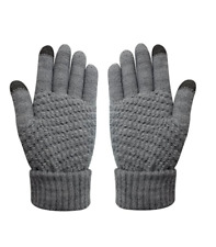 Womens Touch Screen Warm Soft Winter Knit Texting Gloves Cute Fashion Mittens
