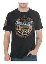 Harley-Davidson Men's 115th Anniversary Insignia Short Sleeve T-Shirt, Black