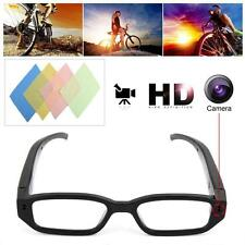 720P Mini Glasses Spy Hidden Camera Glasses Eyewear Recorder Cleaning Clothes MT