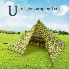 Ultralight 2 Person Backpack Double-Side Tent Portable Camping Waterproof D7T3