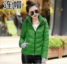 Winter Wear Green Color Cotton Fabric Plus Size Jacket For Women