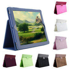 New Universal Leather Stand Case Cover Pouch For  Ipad 2 3 4 Android Tablet PC