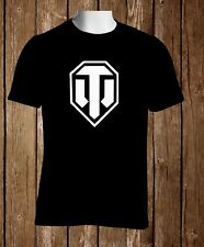 World of Tanks Black T-shirt S to 3XL