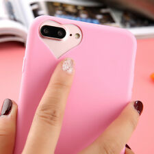 Ultra-thin Slim Rubber Soft TPU Silicone Gel Cover Case for iPhone 5 6S 7 8 Plus