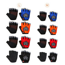 Outdoor Sports Cycling Bike Bicycle Half Finger Fingerless Gloves for Adult/Kid