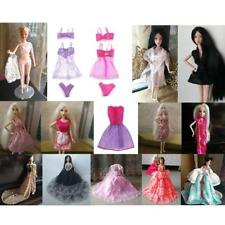 Handmade Clothes Gown Outfit Underwear for Barbie Dolls Children Gift Doll Dress