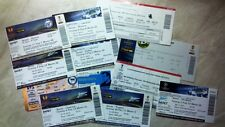 EС TICKETS from RUSSIA 1992/93 - 2014/15 updated OCTOBER 2017 Read description