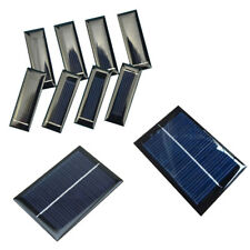 100mA 0.5V/6V 0.6W/1W Solar Panel Module Cell Photovoltaic Battery Charger new